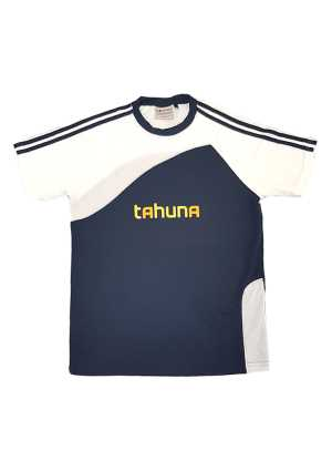 Tahuna Normal Intermediate Sports Tee Navy/White Adults
